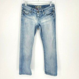 BKE Madison Light Wash ankle length jeans size 26